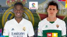 Real Madrid - Elche : les compositions sont là