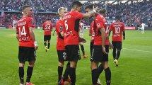 Ligue 1 : Rennes lamine Clermont, Monaco et Lille se relancent