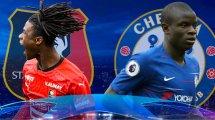 Rennes-Chelsea : les compositions sont tombées