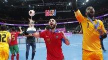 La superstar du futsal Ricardinho décroche le premier Mondial de sa carrière... et le dernier