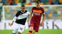 Serie A : premier succès de la saison pour la Roma contre l'Udinese