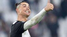 L'ouverture du score de Cristiano Ronaldo face à la Lazio en vidéo