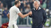 AS Rome : José Mourinho content de ses joueurs malgré la défaite à Turin