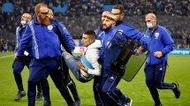 OM-PSG : de nombreux incidents survenus au Vélodrome