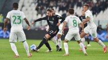 Serie A : la Juventus piégée par Sassuolo, l'Atalanta se reprend bien face à la Sampdoria