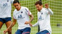 PSG : Angel Di Maria donne des nouvelles de Lionel Messi