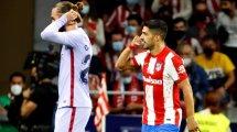 Atlético : la réaction de Luis Suarez après son but face au FC Barcelone