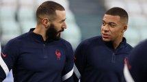 Real Madrid , EdF : Karim Benzema s'enflamme pour le «phénomène» Kylian Mbappé