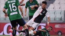 Serie A : la Juve accrochée dans un match dingue à Sassuolo