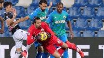 Serie A : Sassuolo manque le coche face à Udinese