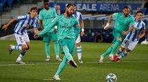 Liga : le Real Madrid s'impose sur le fil face à la Real Sociedad et s'empare de la place de leader