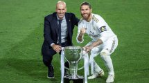 Real Madrid : Zinedine Zidane et le cas Sergio Ramos