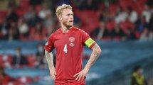 UEFA Champions League : Simon Kjær et l'équipe médicale du Danemark récompensés