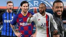 Journal du Mercato : le PSG sur tous les fronts, l'AS Roma veut faire peau neuve