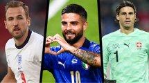Euro 2020 : l'équipe type des quarts de finale