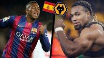 La folle ascension d'Adama Traoré, du frêle joueur du Barça au surpuissant ailier de la Roja