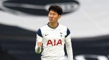 Tottenham confiant pour une prolongation d'Heung-Min Son