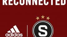 Le Sparta Prague rejoint adidas !