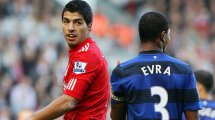 Quand Patrice Evra s'est retenu de frapper Luis Suarez