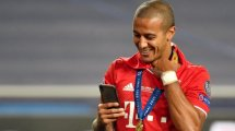 Accord Bayern-Liverpool confirmé pour Thiago