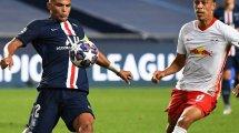 PSG : Thiago Silva s'étonne du cas Cavani