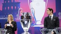 Le tirage au sort complet des huitièmes de finale de la Ligue des Champions
