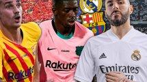 Real Madrid - FC Barcelone : les Français sont à la peine...