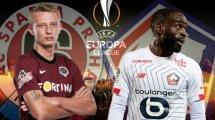 Sparta Prague-Lille : les compositions probables
