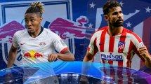 RB Leipzig-Atlético de Madrid : les compositions probables