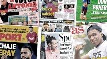 Le malaise Antoine Griezmann enflamme l'Espagne, le retour de CR7 à Turin crée un scandale d'État