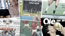 "La presse mondiale rend un magnifique hommage au ""Dieu"" du football, Diego Armando Maradona"