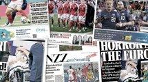 La presse européenne sous le choc après l'arrêt cardiaque de Christian Eriksen