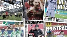 La presse espagnole taille sans retenue le FC Barcelone, la Camavingamania bat son plein au Real Madrid