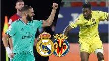 Real Madrid-Villarreal : les compositions officielles
