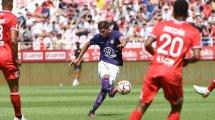 Ligue 2 : Toulouse domine Dijon et prend la tête