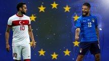 Euro : les compositions officielles de Turquie-Italie