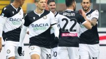 Serie A : Sassuolo s'écroule face à l'Udinese