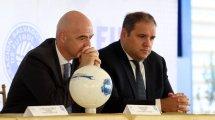 Le vice-président de la FIFA ressort l'idée d'une saison sur l'année civile