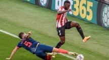 Liga : Bilbao surprend Séville en fin de match