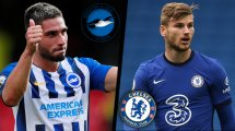Brighton - Chelsea : les compositions probables