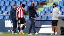 Yuri Berchiche inquiète un Athletic au bord de la crise de nerfs