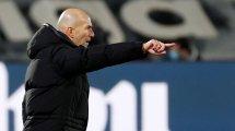 Real Madrid : Zinedine Zidane réagit au tirage face à l'Atalanta