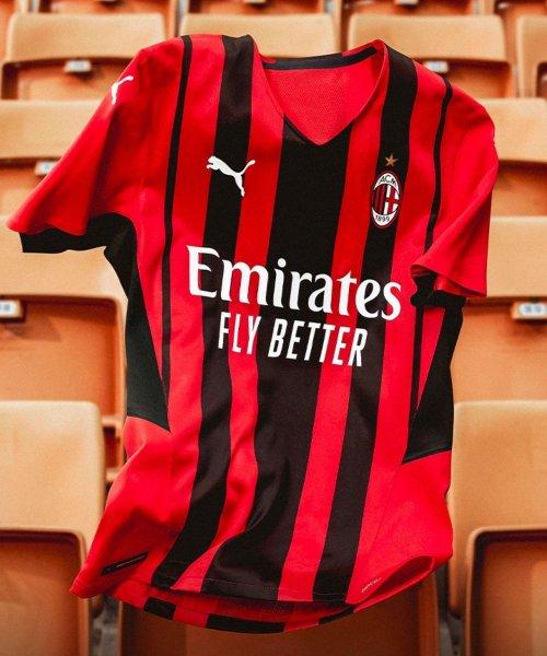 Le maillot domicile du Milan AC pour la saison 2021-2022 !