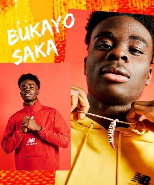 Bukayo Saka est officiellement un joueur New Balance