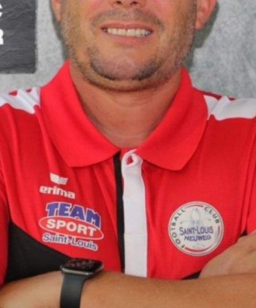 Cédric Decker, entraîneur de Saint-Louis Neuweg