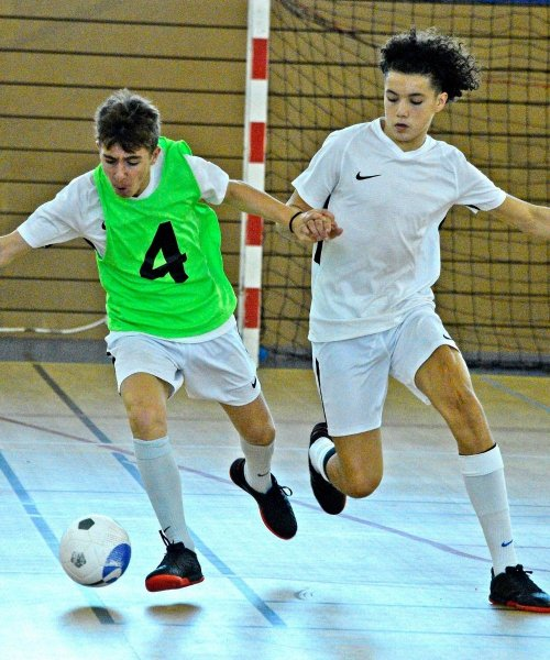 Le futsal, une pratique indispensable en formation avant le passage en foot à 11