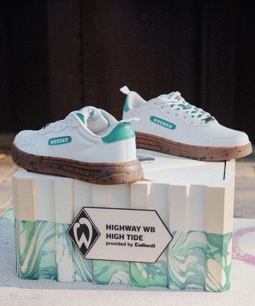 Les sneakers Umbro x Werder Brême