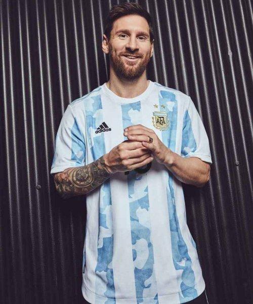 Le maillot domicile de l'Argentine pour la Copa America !