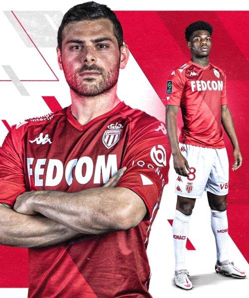 Le nouveau maillot collector de l'AS Monaco
