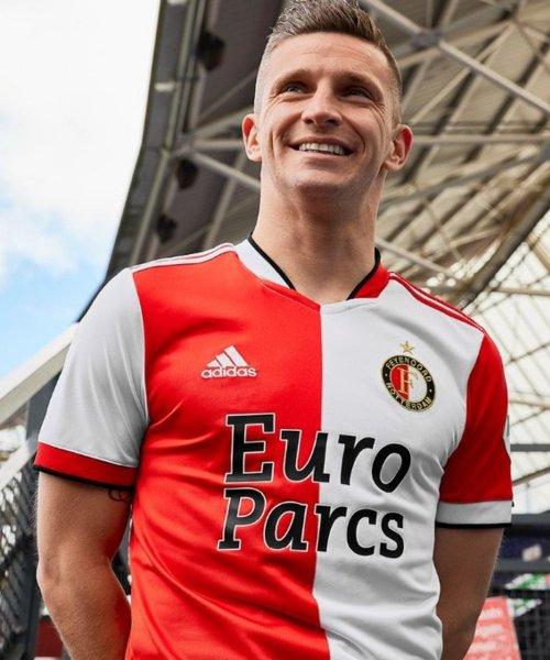 Le nouveau maillot domicile de Feyenoord pour la saison 2021-2022 !